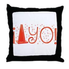 Cone-yo Throw Pillow