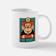 Fire Monkey Mug