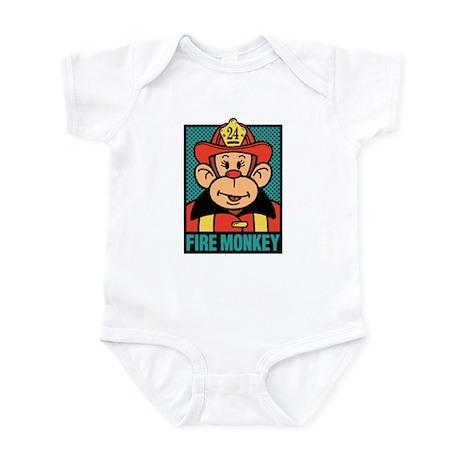 Fire Monkey Infant Bodysuit