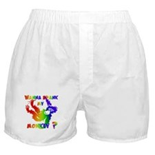 GLBT Spank My Monkey Boxer Shorts