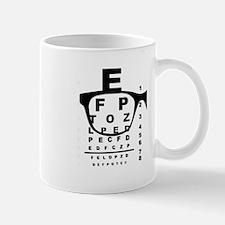 Blurr Eye Test Chart Mugs