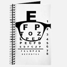 Blurr Eye Test Chart Journal