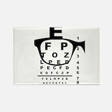 Blurr Eye Test Chart Magnets