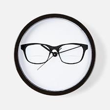 Pair Of Optical Glasses Wall Clock