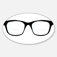 Pair Of Optical Glasses Decal