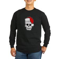Christmas Santa Skull T