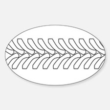 Tractor Tyre Tread Outline Decal