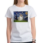 Starry / Pomeranian Women's T-Shirt