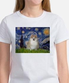 Starry / Pomeranian Women's T-Shirt