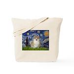Starry / Pomeranian Tote Bag