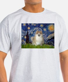 Starry / Pomeranian T-Shirt