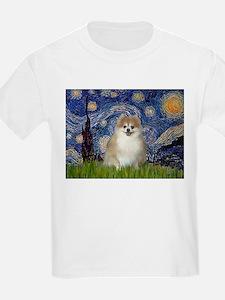 Starry / Pomeranian T-Shirt