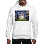 Starry / Pomeranian Hooded Sweatshirt