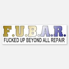Humor/Puns Bumper Bumper Bumper Sticker