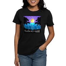Women's Turtle My World T-Shirt