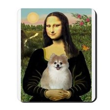 Mona/Pomeranian (#1) Mousepad
