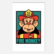 Fire Monkey Postcards (Package of 8)