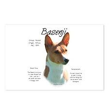 Basenji (chestnut) Postcards (Package of 8)