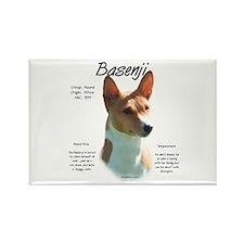 Basenji (chestnut) Rectangle Magnet (10 pack)