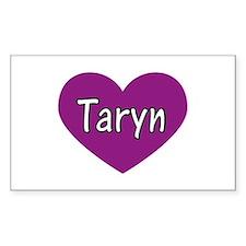 Taryn Rectangle Decal