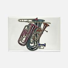 Unique Musical instruments Rectangle Magnet (10 pack)