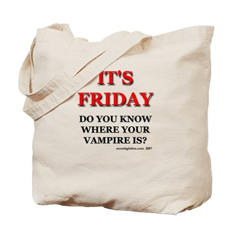 It's Friday. Tote Bag
