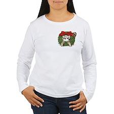 Pocket Raccoon Wreath T-Shirt