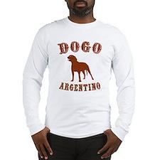Argentine Dogo Long Sleeve T-Shirt