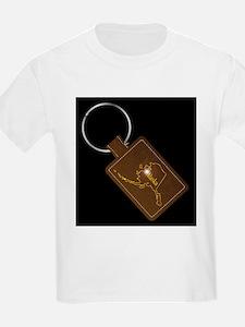 Alaska Leather Key Fob T-Shirt