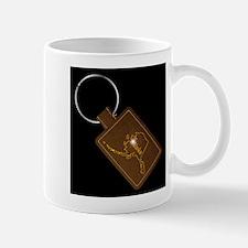 Alaska Leather Key Fob Mugs