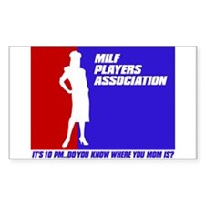 M.I.L.F International Sticker (Rectangular