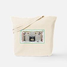 Keeshond - Christmas Tote Bag