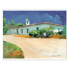 Adobe House by Riccoboni Posters