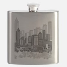 Atlanta, Georgia Art Flask