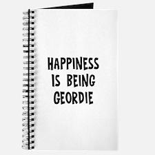 Happiness is being Geordie Journal