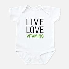 Live Love Vitamins Infant Bodysuit