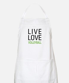 Live Love Volleyball BBQ Apron
