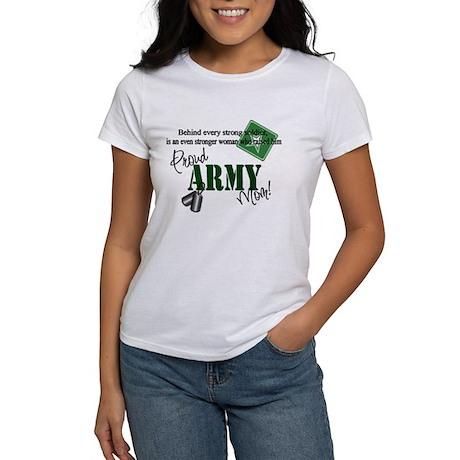 Proud Army Mom Women's T-Shirt