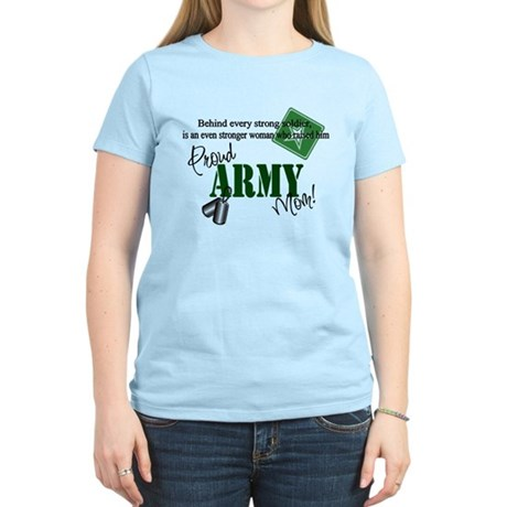 Proud Army Mom Women's Light T-Shirt