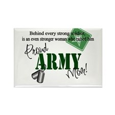 Proud Army Mom Rectangle Magnet