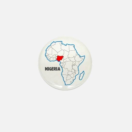 Nigeria Mini Button