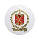 LANDRY Family Crest Ornament (Round)
