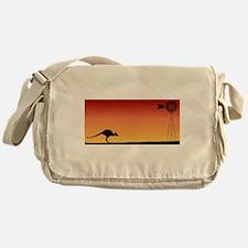 Australian Sunset Messenger Bag