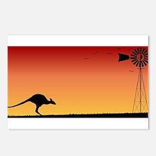 Australian Sunset Postcards (Package of 8)