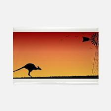Australian Sunset Magnets