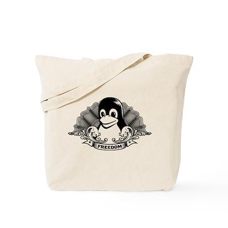 tux dollar Tote Bag