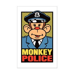Monkey Police Posters