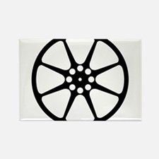 Movie Reel Silhouette Magnets