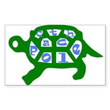 Turtle Rectangle Decal