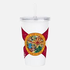 Florida State Flag Acrylic Double-wall Tumbler
